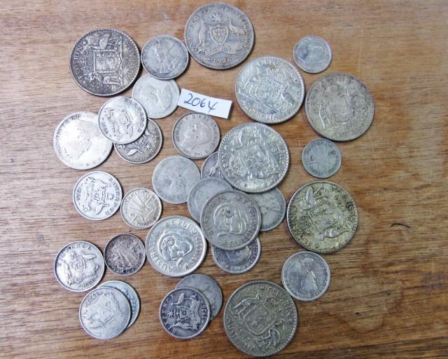 150 Grams Pre 1946 silver coins Co2064
