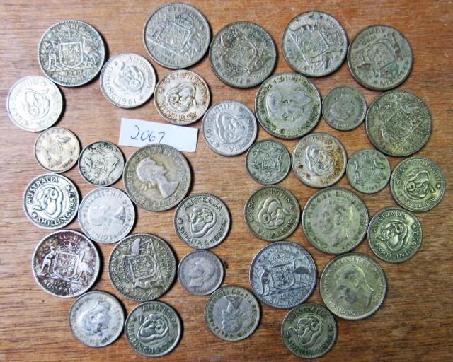 250 Grams POST 1946 silver coins Co2067