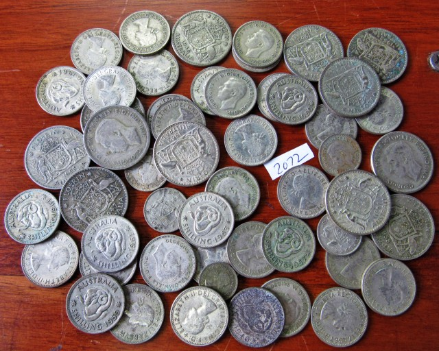 350 Grams POST1946 silver coins Co2072