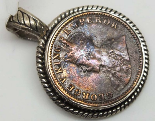 COLLECTABLE COIN PENDANT JEWELRY 69.90 CTS TBC-24