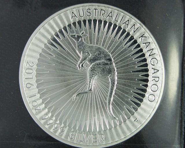 2016 Perth mint kangaroo .9999 silver
