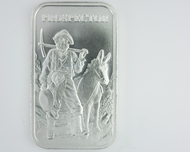 Provident Metals Prospector rectangular .999 silver