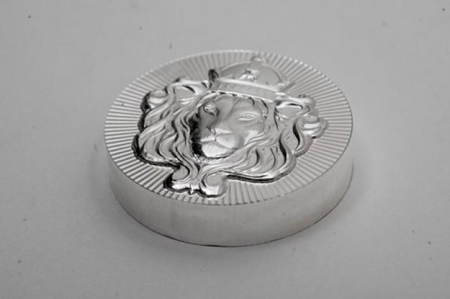 100 Grams Scottsdale round stacker .999 pure silver