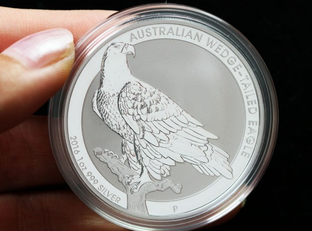 Wedge Tail eagle 2016  ONE OUNCE SILVER 99.9%