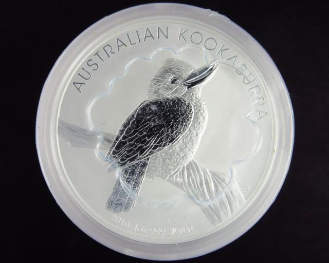 2010 AUSTRALIAN KOOKABURRA SILVER BULLION COIN
