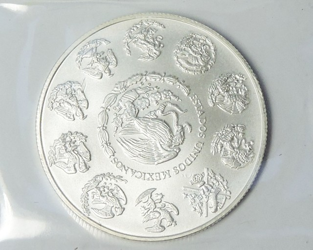 2014 silver on ounce Mexican libertad