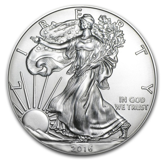 2016 American eagle one ounce Silver coin