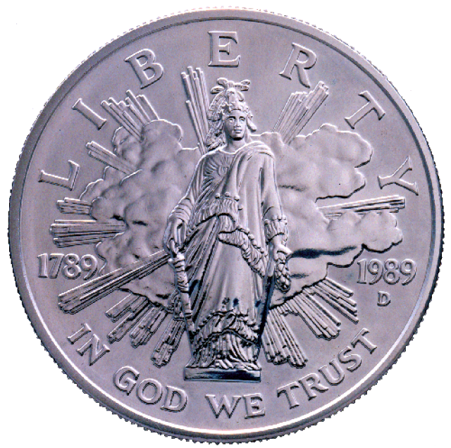 US Mint .999 Silver Comm ASW.7734 bi cent congress