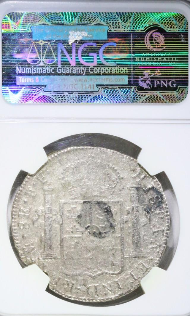 SHIP WRECK  CERTIFIED NGC 1783  MEXICO 8R EL CAZADOR J 1927