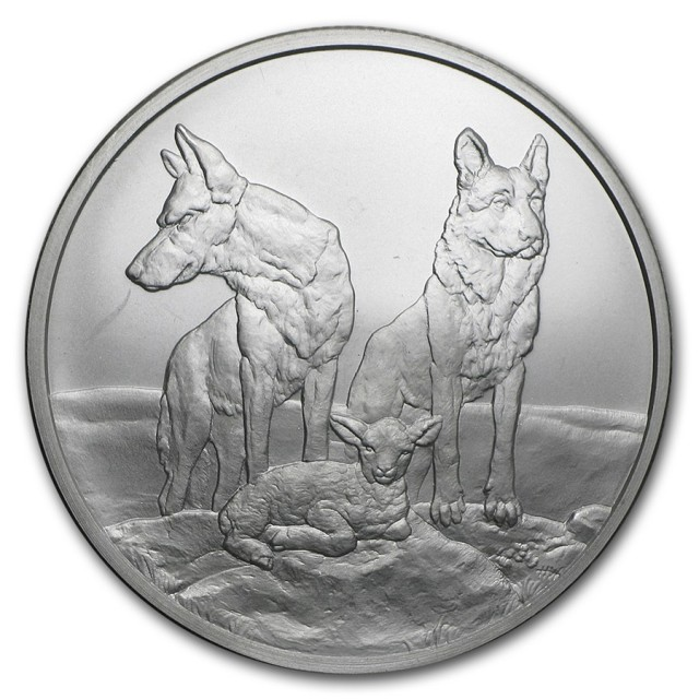 Silver shield Aware and Prepare one ounce .999 silver