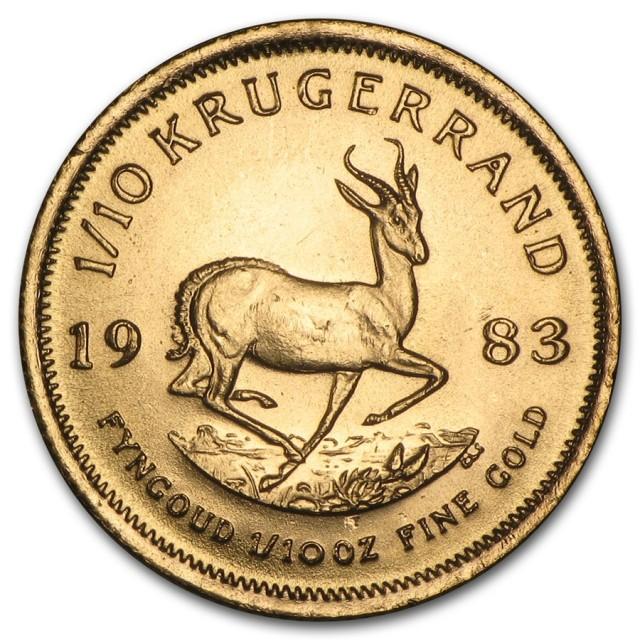 1983 1/10 oz Gold Kuggerand Coin