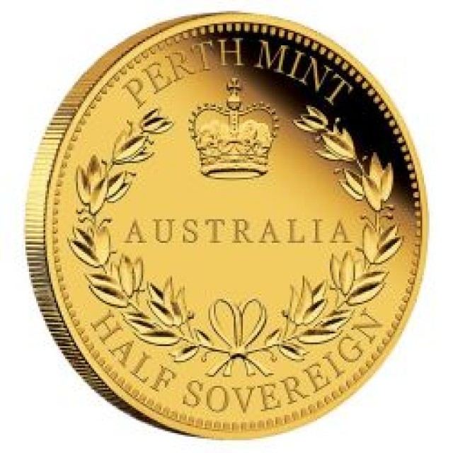 2016 half ounce soverign 91.67% AuPr Gold coin