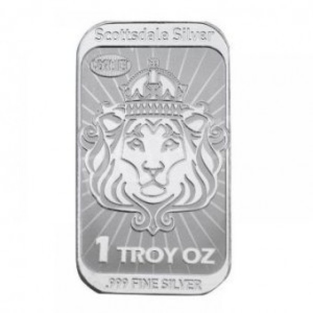 Scottsdale Niue silver bar one ounce .999
