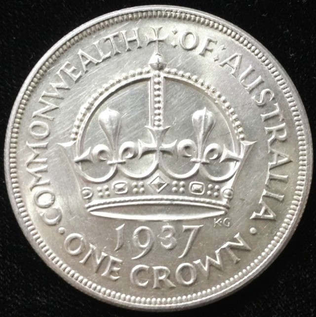 Australian One Crown 925 silver coin  CO 2302