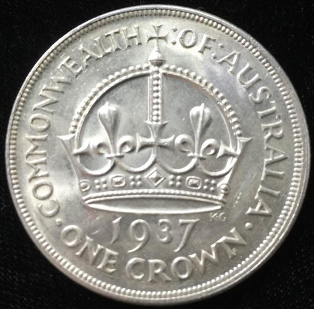 Australian One Crown 925 silver coin  CO 2304