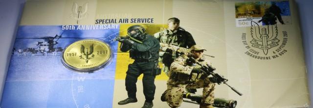 PM Australian Special Air Service 50th Ann  co2309
