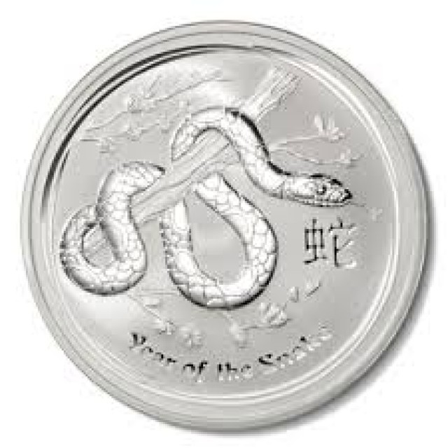 Lunar Series II 2013 Year of the Snake 1oz Silver