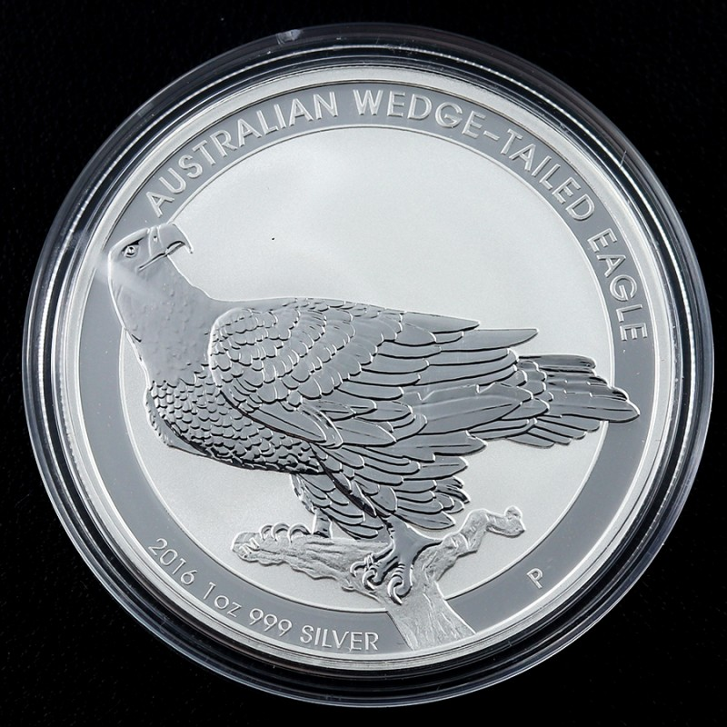 2017 Wedged Tail Eagle silver 99.9% pure