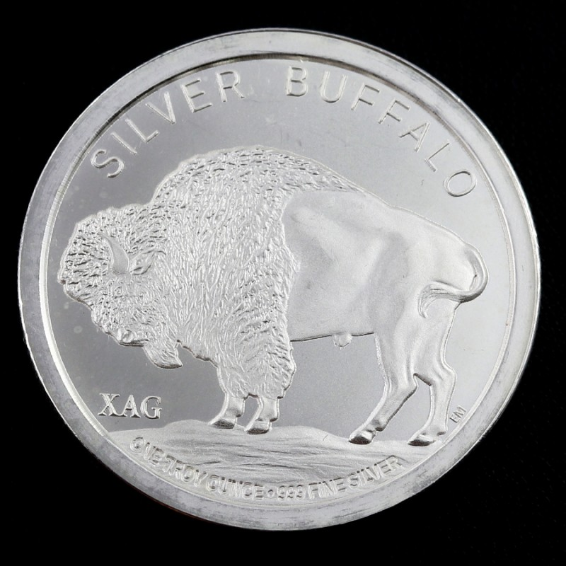 1 oz .999 silver coin - 2015 XAG Buffalo