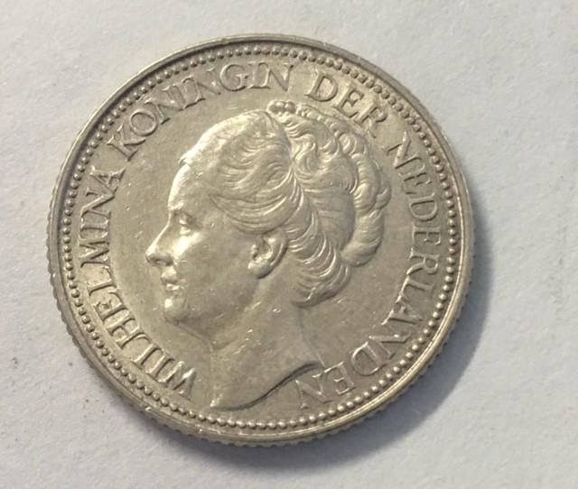 Netherlands Kingdom 25 cents 0.640 silver J 2040