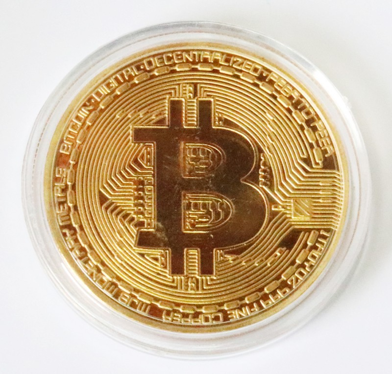 Bitcoin  copper n Capsule Gift Art Collection