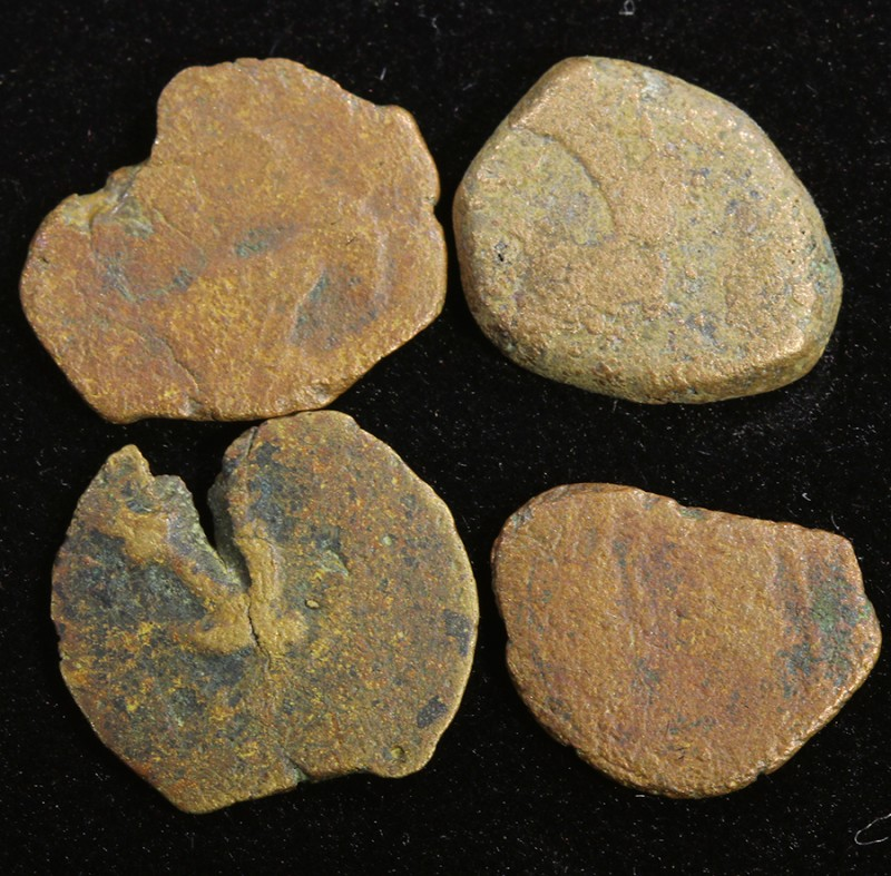 Four Biblical Coin Janenaeus Period  in display box SU751