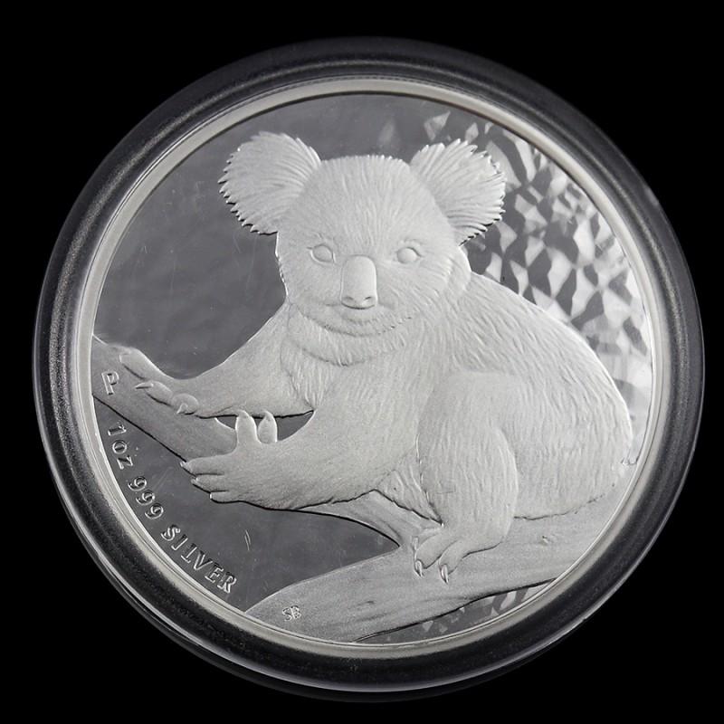 2009 AUSTRALIAN OUNCE KOALA SILVER   COIN