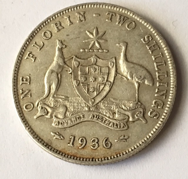 Florin 925 silver J2625