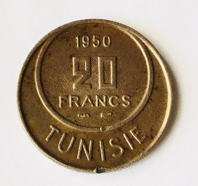 Tunisia french prtectorate 2632