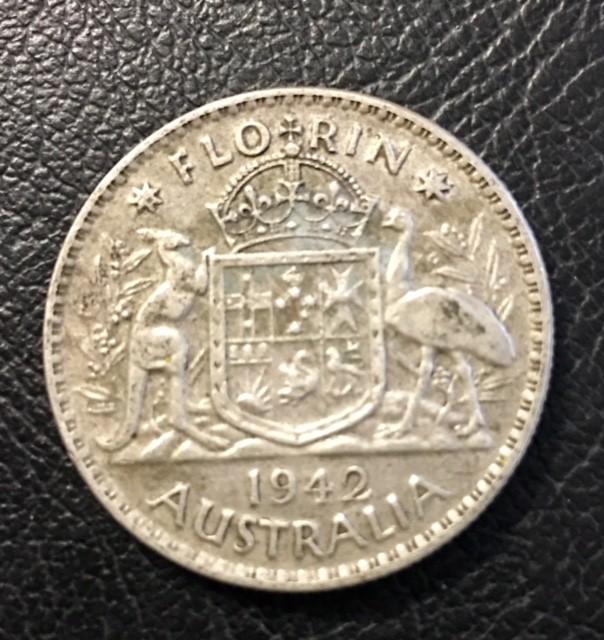Pre war  925 Silver florinel coinsJ 2701