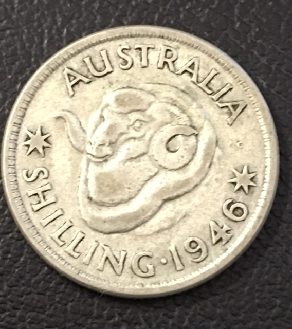 1946 SHILLING 500  SILVER COIN J 2721