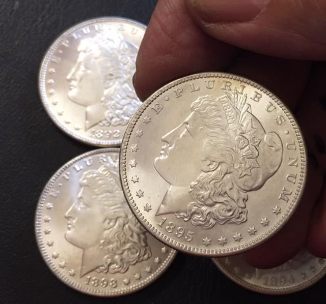 1892 -1895 Replica set four   Morgan Dollars   J2764