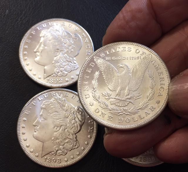 1892 -1895 Replica set four   Morgan Dollars   J2765