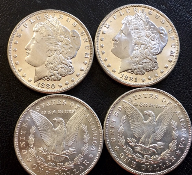 1880-1883 Replica set four   Morgan Dollars   J2769