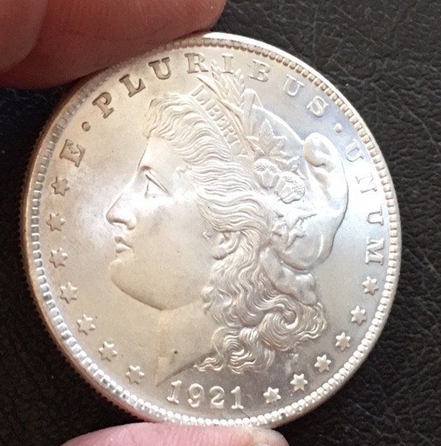 1921  Replica    Morgan Dollar   J2771