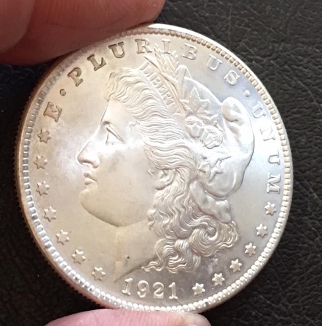 1921  Replica    Morgan Dollar   J2772