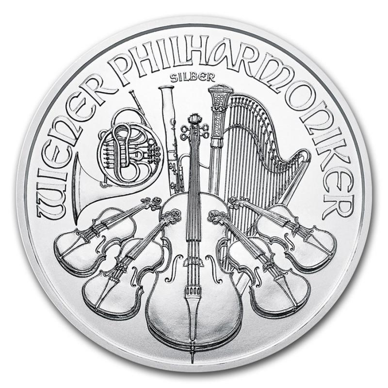 1 oz Silver Philharmonic 2018 .999 pure austria