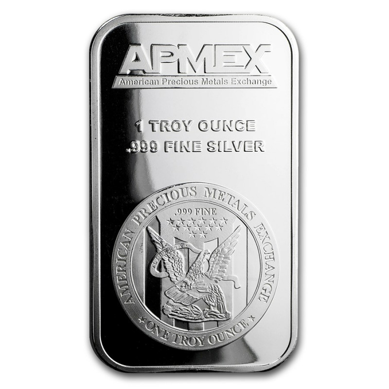 Precious metals one ounce  Pure Silver 99.9%