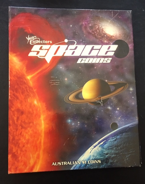 2009 Young Collectors Space coins set Mint condition