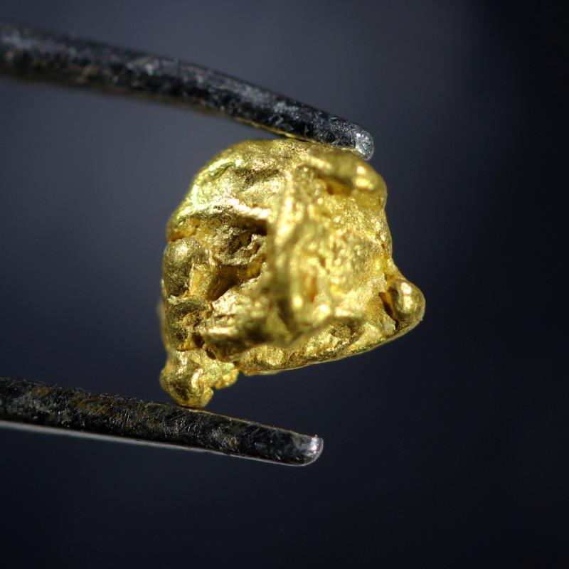 0.63 Grams Large Australian  Gold Nugget   LGN 1578