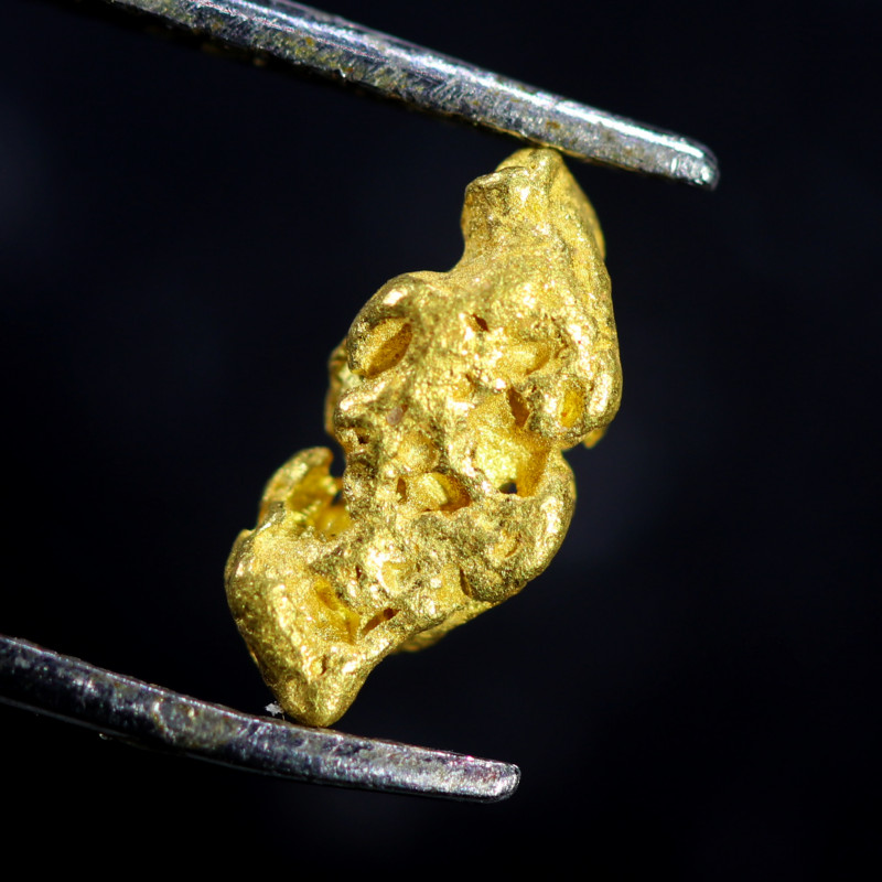 0.62 Grams Large Australian  Gold Nugget   LGN 1585