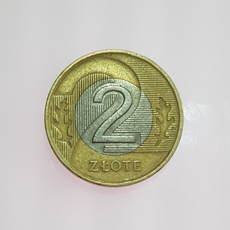 2 Zlote 1994 Coins.