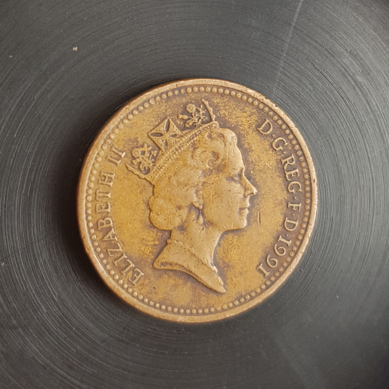 ONE PENNY 1991 Coins.