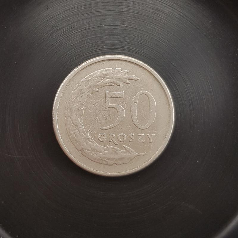 50 GROSZY 1991 COINS.