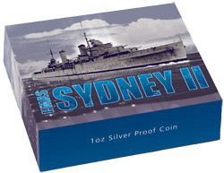 HMAS Sydney II 1oz Silver Proof Coin