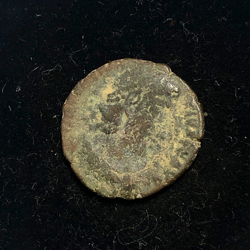As Found Ancient Roman  bronzeCoin  CP 317