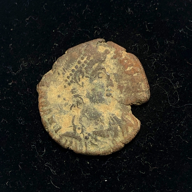 As Found Ancient Roman  bronzeCoin  CP 315