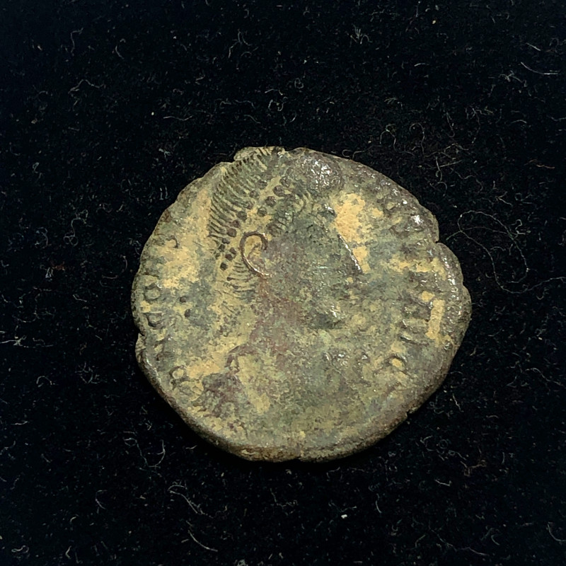As Found Ancient Roman  bronzeCoin  CP 313