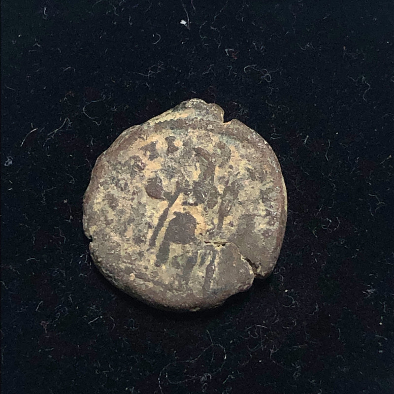 As Found Ancient Roman  bronzeCoin  CP 308