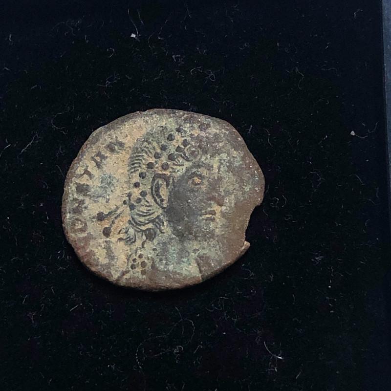 As Found Ancient Roman  bronzeCoin  CP 303
